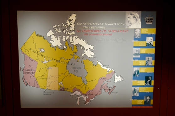 Map of Canada from way back when...