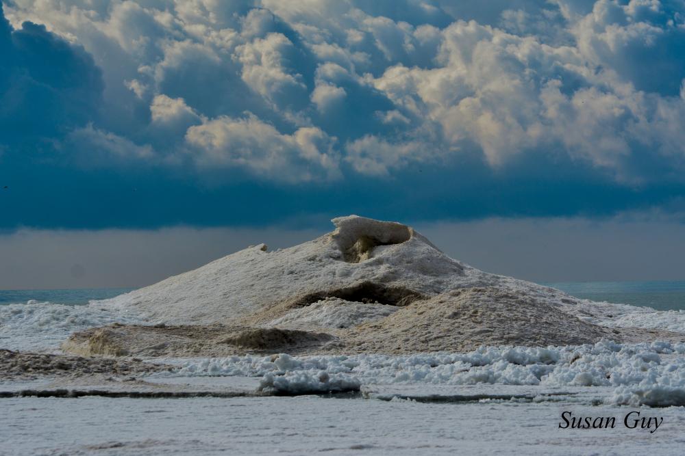 Presquile Ice Volcano